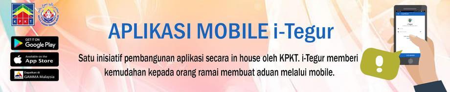 Applikasi Mobile-iTegur